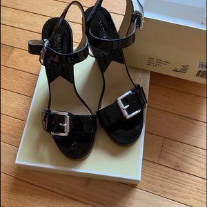 Michael Kors Black Pacific Sandals